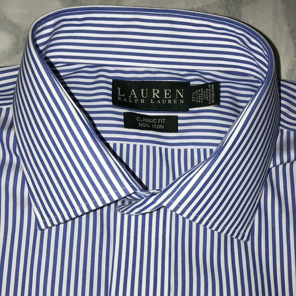 eb157b73 Lauren Ralph Lauren Shirts   Ralph Lauren Bengal Stripe Dress Shirt ...